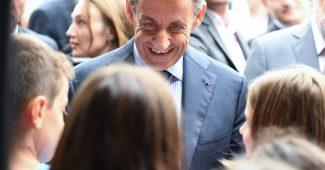 Nicolas Sarkozy à Orgeval
