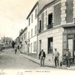 Le centre-ville d'Orgeval