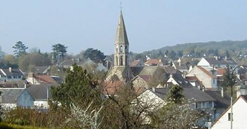 Le village d'Orgeval