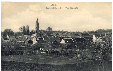 Cartes postales anciennes Orgeval